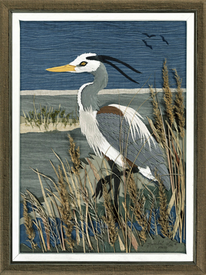 Great Blue Heron by HannibalLee.com